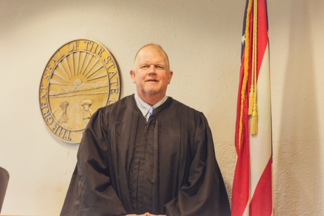 Photo of the Judge